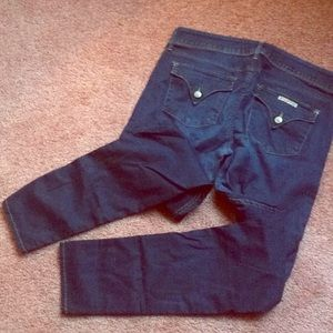 Hudson Skinny Jeans 32 GUC Super Stretchy!